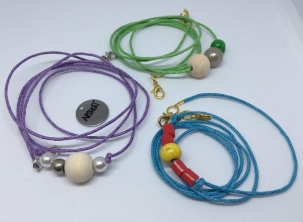 collar-mask ArtSkat PACK tres cordones