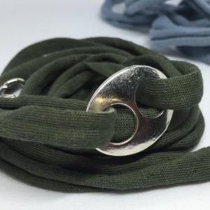collar-mask ArtSkat PACK UNO VERDE O AZUL HEBILLA