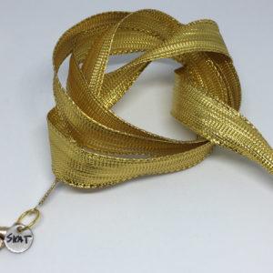 collar-mask ArtSkat PACK UNO NAVIDAD DORADO FUERTE