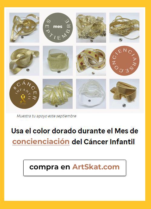 mes concienciación #cáncerinfantil
